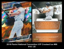 2016 Panini National Convention VIP Cracked Ice #66
