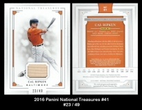2016 Panini National Treasures #41