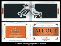 2016 Panini National Treasures All Out Jerseys #1