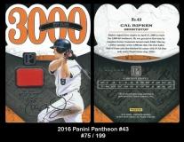 2016 Panini Pantheon #43
