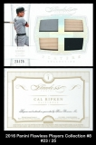 2016 Panini Flawless Players Collection #8