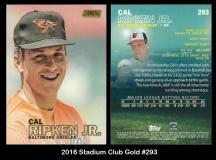 2016 Stadium Club Gold #293