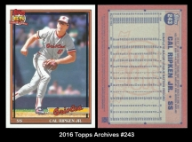 2016 Topps Archives #243