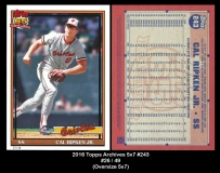 2016 Topps Archives 5x7 #243