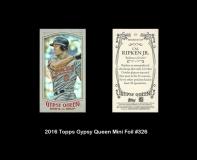2016 Topps Gypsy Queen Mini Foil #326