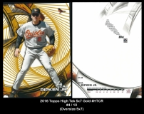 2016 Topps High Tek 5x7 Gold #HTCR