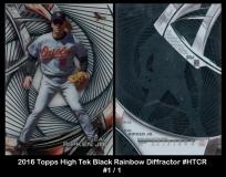 2016 Topps High Tek Black Rainbow Diffractor #HTCR