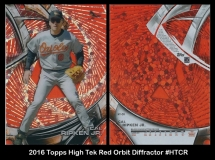 2016 Topps High Tek Red Orbit Diffractor #HTCR