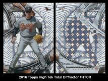 2016 Topps High Tek Tidal Diffractor #HTCR