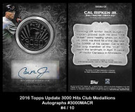 2016-Topps-Update-3000-Hits-Club-Medallions-Autographs-3000MACR