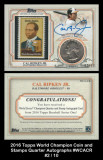 2016-Topps-World-Champion-Coin-and-Stamps-Quarter-Autographs-WCACR
