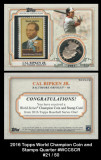2016-Topps-World-Champion-Coin-and-Stamps-Quarter-WCCSCR