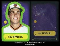2016 Topps 5x7 MLB Star Wars Tribute #14