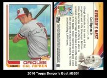 2016 Topps Berger's Best #BB31
