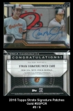 2016 Topps Strata Signature Patches Gold #SSPCR