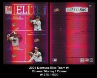 2004 Donruss Elite Team #1