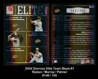 2004 Donruss Elite Team Black #1