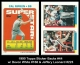 1990 Topps Sticker Backs #44 W Devon White #168 & Jeffery Leonard #223
