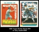 1990 Topps Sticker Backs #44 w Gary Gaetti #288