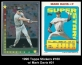 1990 Topps Stickers #160 w Mark Davis #31