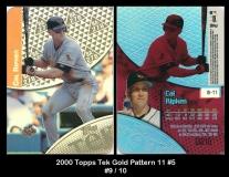 2000 Topps Tek Gold Pattern 11 #5