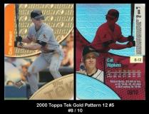 2000 Topps Tek Gold Pattern 12 #5