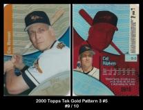 2000 Topps Tek Gold Pattern 3 #5